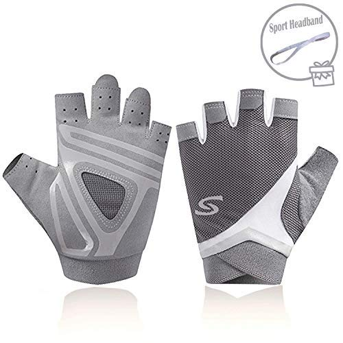 Gray Rowing Gloves for Women by - Ideal for Indoor Rowing, Sculling, Kayak, SUP, Outrigger Canoe, Dragon Boat and Other Watersports (Kayak Gloves women1)