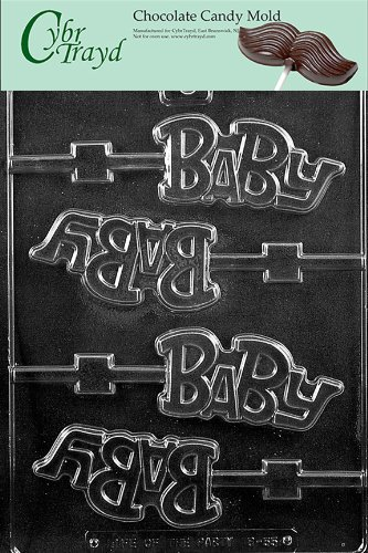 (BABY LOLLY Baby Candy Mold Chocolate [Kitchen])