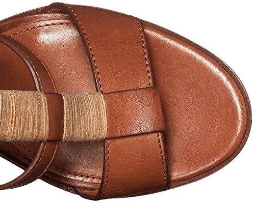 Frye vestido Suzie gladiador sandalias Cognac
