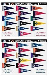 MLB Rank 'Em All 30 Teams Mini Pennant M...