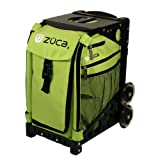 Zuca Sport Insert Bag, Apple (Light Green) with Sport Frame Black