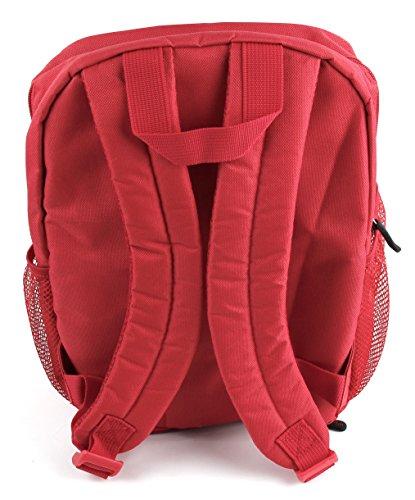 DuraGadget Roter Rucksack für Google Pixelbook Notebooks