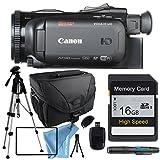 Canon VIXIA HF G40 HFG40 with Tripod, Memory Card, Camera Case, USB Card Reader & More