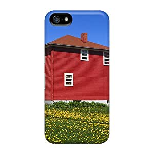 High-quality Durable Protection Cases For Iphone 5/5s(la Matre Lighthouse Gaspe Peninsula Quebec)