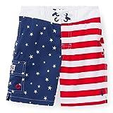 RALPH LAUREN Polo Mens American Flag Swim Trunk (XL, Americana)