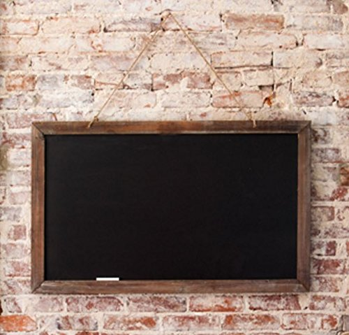 Park Hill Collection Vintage Schoolhouse Two-Sided Blackboard - 40-in -