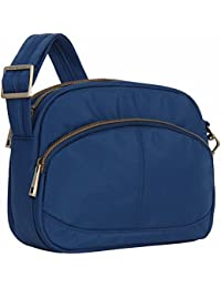 Anti-Theft Signature E W Shoulder Bag