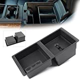 MALLOFUSA Center Console Insert Organizer Tray Fit for Chevy Silverado 2015-2018 Tahoe Suburban-GMC Sierra Yukon-GM Vehicles Armrest Box Accessories