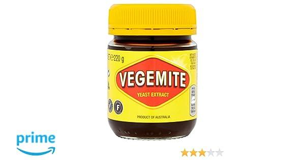 Kraft Vegemite Extracto De Levadura 220g | Producto de Australia | Kraft Vegemite Yeast Extract Spread: Amazon.es: Alimentación y bebidas