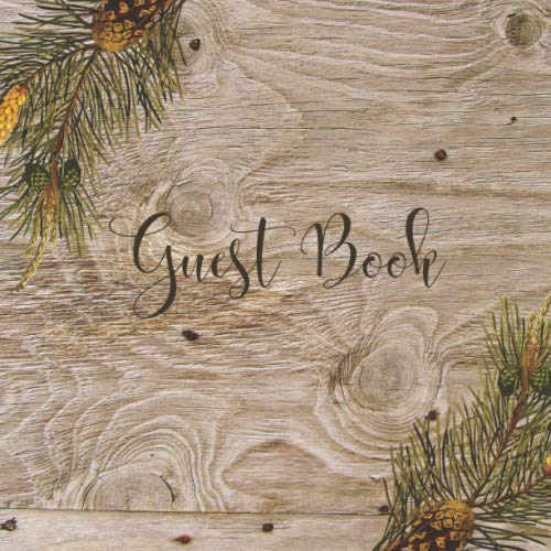Guest Book: Cabin, Rustic, Nature, Cottage, Vacation Rental, Guest House, Bed and Breakfast, Mountain Home, Lake Home, Air BNB