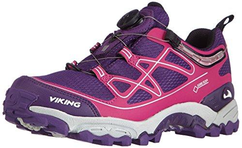 IV Trekking Fuchsia Violett Grape BOA Viking GTX Damen Wanderhalbschuhe 4817 Anaconda E1wq7p
