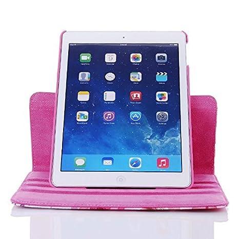 iPad Case 9.7 inch 2017//2018 ipad air iPad air 2 Auto Sleep//Wake inShang ipad case Smart Cover iPad Stand 360 Degree Rotating+1pc business stylus Pen