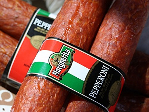 Margherita VERY BEST TOP RATED Pepperoni Sticks (4 (Pepperoni Sausage)