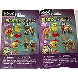 K'NEX Plants vs. Zombies Series 3 Mystery Pack (SET OF 2 Packs)