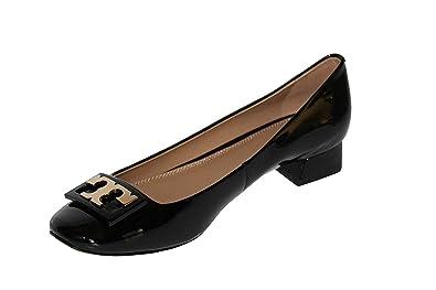 074ec261262f Tory Burch Women s Jill Pump Patent Leather Pump Heel Shoes 52824 Perfect  Black (US