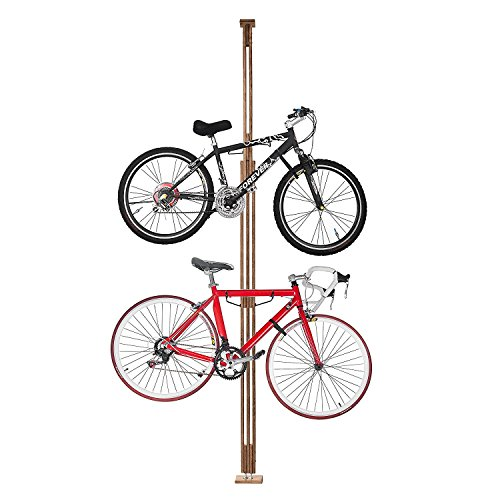 - 2021 RAD Cycle Woody Bike Stand Bicycle Rack Storage or Display Holds Two Bicycles