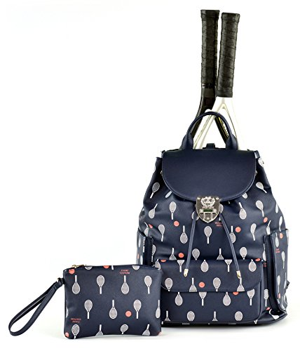 Court Couture Hampton Printed Midnight Tennis Backpack