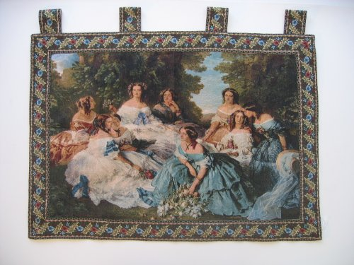 - DaDa Bedding WH-11630 Classic French Rococo Woven Tapestry Wall Hanging, 36 by 50-Inch