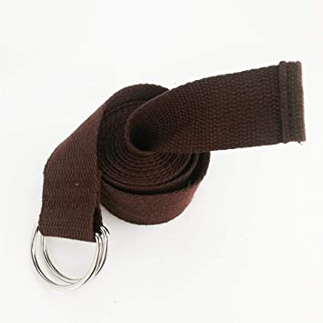 LINANNAV Suministros de Yoga cordón Estiramiento cinturón ...