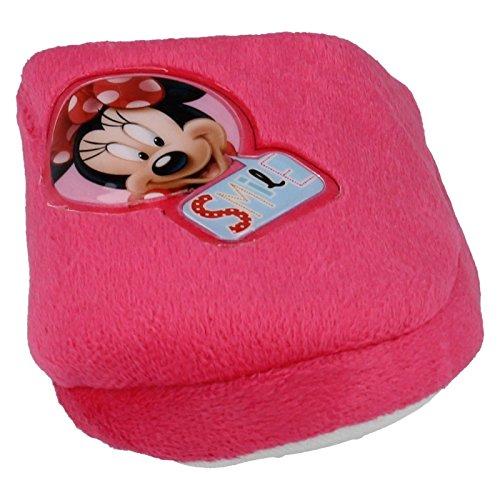 Mädchen Disney Minnie Maus Hausschuhe wd8147 Fuchsia