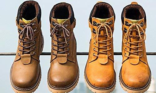 FuweiEncore FuweiEncore FuweiEncore Männlicher Winterkomfort mit Wasserdichten Stiefeletten (Farbe   Gelb, Größe   39) B07K2ZFYST  3b6361