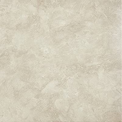 Achim Imports FTVMA45045 Achim Home Imports Tivoli Carrera Marble 12 inch x 12 inch Self Adhesive Vinyl Floor Tile #450,