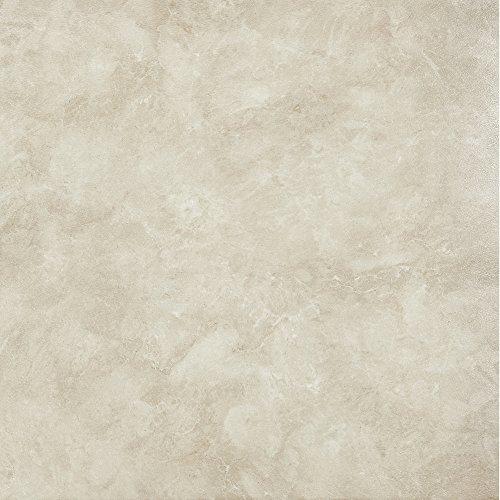 (Achim Imports FTVMA45045 Achim Home Imports Tivoli Carrera Marble 12 inch x 12 inch Self Adhesive Vinyl Floor Tile #450, Pack of )