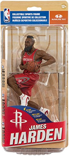 - McFarlane Toys NBA Series 31 Houston Rockets James Harden SILVER Collector Level Action Figure #/750