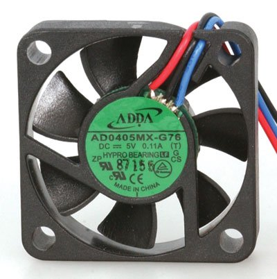 Fan Cooler Adda AD0405MX-G76-LF Brushless Fan, 3-11 Leads, 5