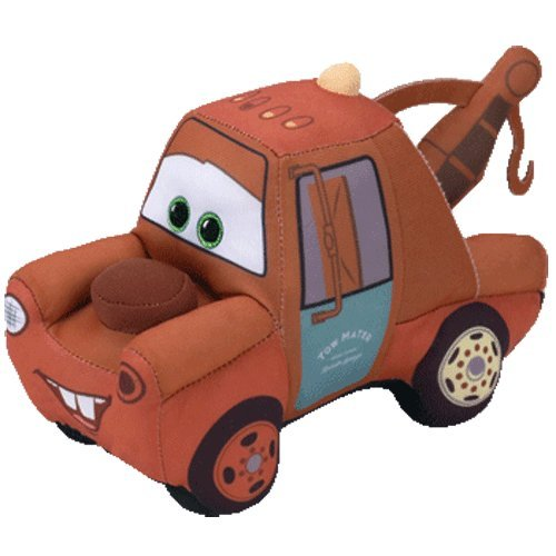 Cars Mater Plush (2017 Ty Beanie Babies Disney / Pixar CARS - MATER 6