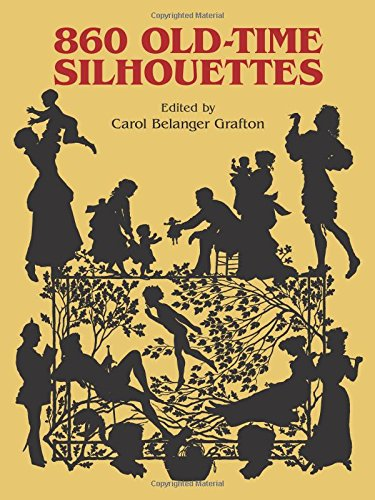 860 Old-Time Silhouettes (Silhouette People)