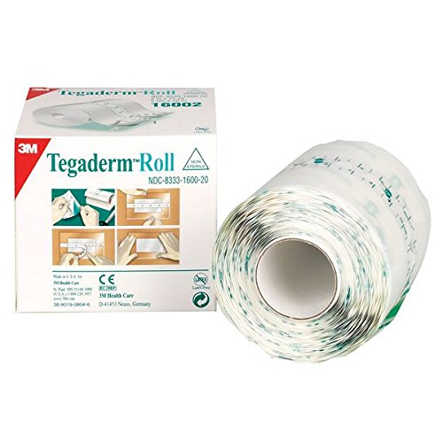"3M Health Care 16004 Dressing, Transparent Film Roll, 4"" x 11 yd. Size"