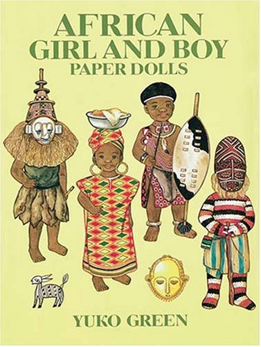 African Girl and Boy Paper Dolls (Dover Paper Dolls) Boy Paper Dolls