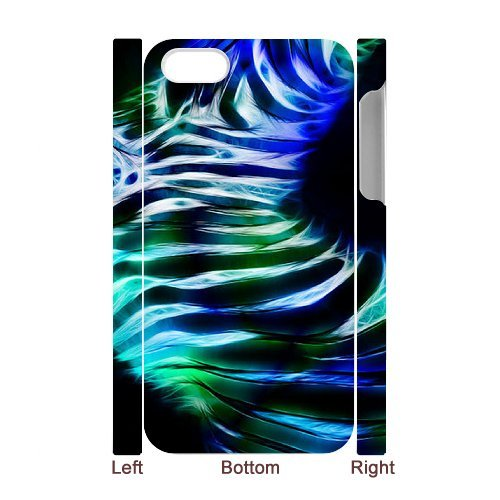 SYYCH Phone case Of Colorful Cute Zebra Style Cover Case For Iphone 4/4s