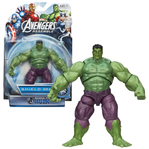 Hasbro Year 2013 Marvel Avengers Assemble S.H.I.E.L.D. Gear Series 5 Inch Tall Action Figure - Gamma Fist HULK