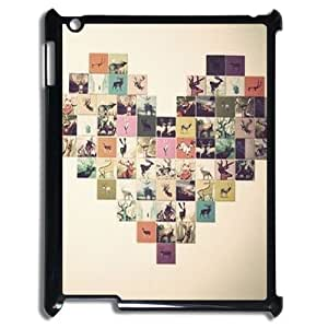 Custom Cover Case with Hard Shell Protection for Ipad2,3,4 case with Small fresh lxa#851534
