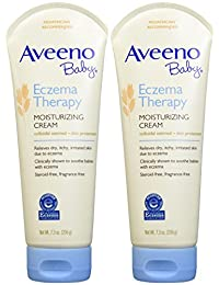 Aveeno Baby Eczema Therapy Moisturizing Cream - Fragrance Free - 7.3 oz - 2 pk BOBEBE Online Baby Store From New York to Miami and Los Angeles