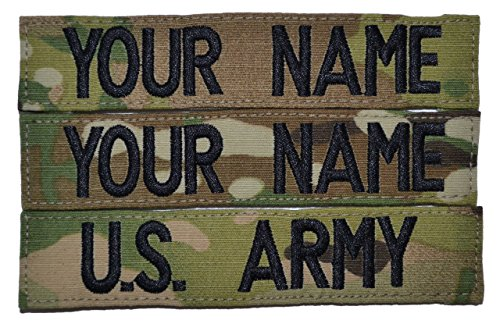 Custom Multicam Scorpion Name Velcro product image