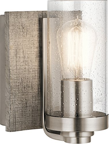 - Kichler Lighting 45926CLP One Light Wall Sconce from The Dalwood Collection