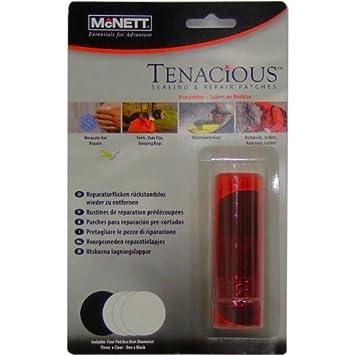 McNett TENACIOUS parches de reparación (paquete de 4): Amazon.es: Juguetes y juegos