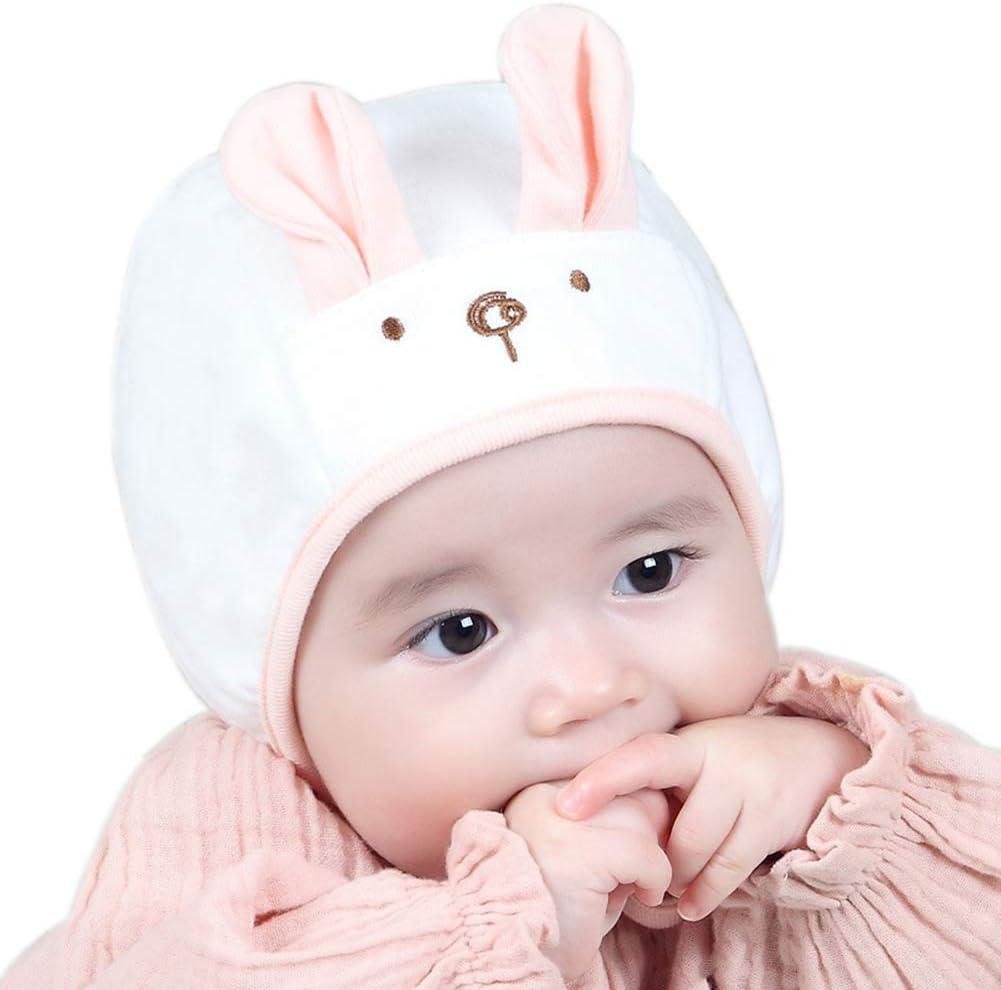 Youkara Unisex Beanie Gorra para Bebés Modelo del Gato Recién Nacido Caps Baby Niños Algodón Sombrero de Bebés Sombreros para Niños Ropa( blanco ): Amazon.es: Bebé