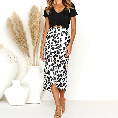 Inghilterra del delle pannello parte il donne bianco del vestito ha fasciatura sexy esterno Leopard stampato maggior sexy popolari partito La Longra☛☛ della qaxSRt8q