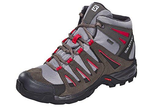 Salomon Ridgeback Mid GTX - Zapatillas de trekking - gris Talla 36 2016