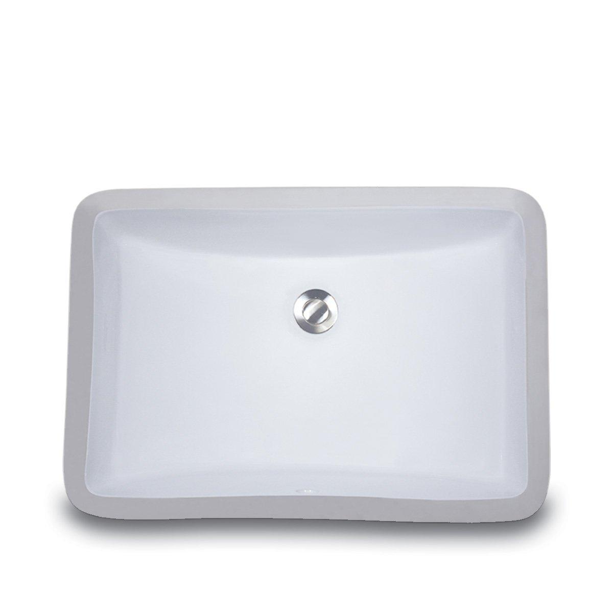 Nantucket Sinks Um 18x12 W 18 Inch By 12 Inch Rectangle Ceramic