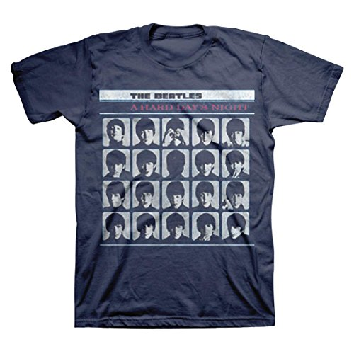The Beatles - A Hard Day's Night - Adult T-Shirt - Large