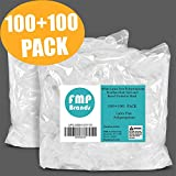 [100 Hairnet and 100 Beard Net Pack] 21 Inch