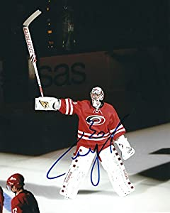 Signed Cam Ward Carolina Hurricanes - Certified Autograph