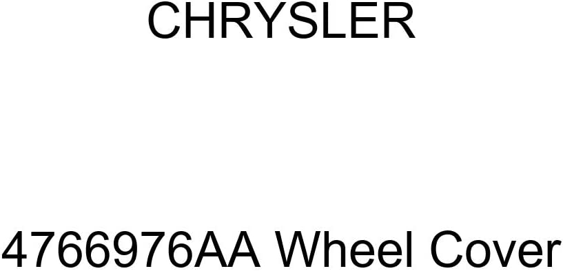 Chrysler Genuine 4766976AA Wheel Cover