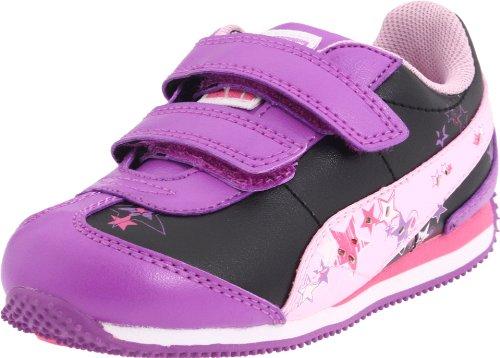 ight-Up Sneaker (Toddler/Little Kid/Big Kid),Dewberry/Black/Pink Lady,4 M US Toddler ()