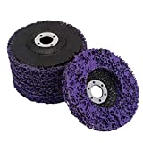 """4""""(100mm) Poly Strip Wheel Disc - 5PCS Abrasive Rust Paint Removal Clean Tool for for Angle Grinder"""